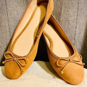 🏷 New Day Ballet Flats Annalyn Microsuede 🩰 Sz:9